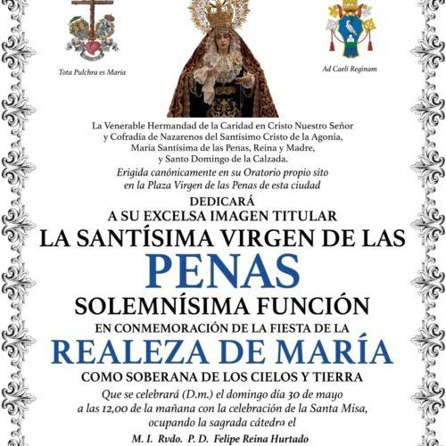 REALEZA DE MARÍA